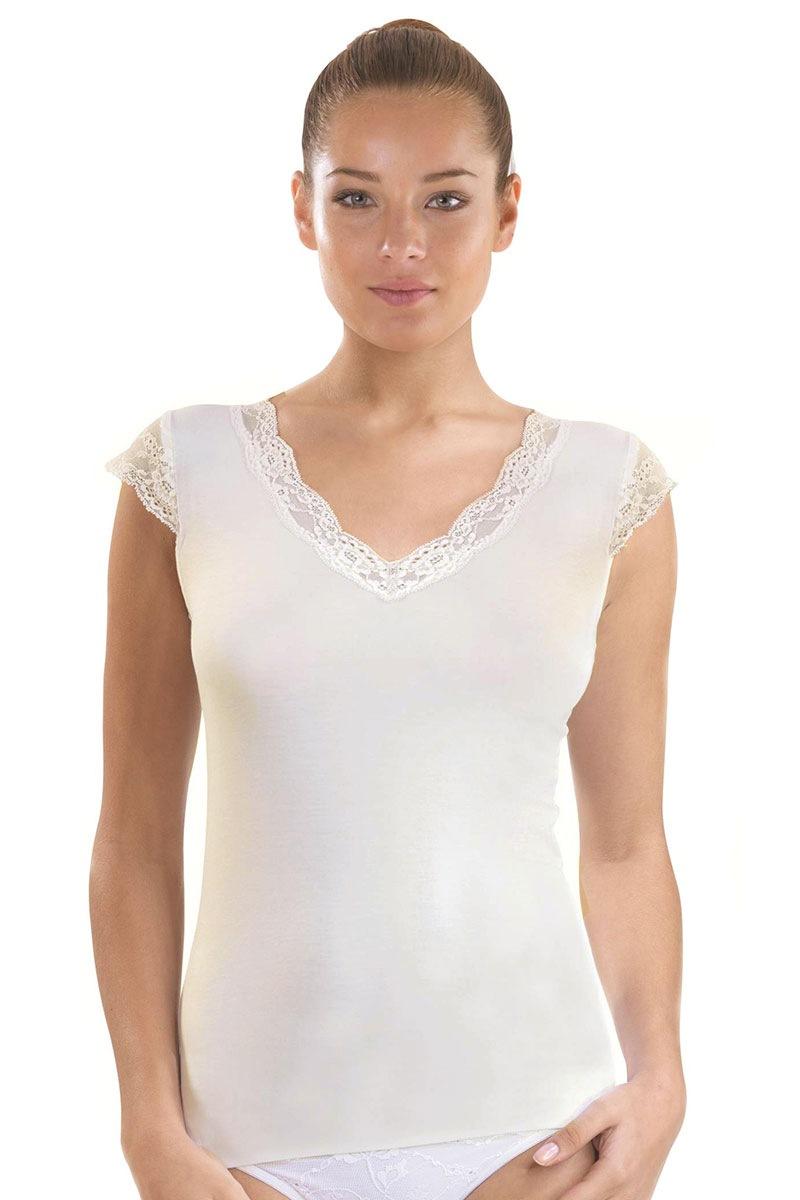 Женская элегантная футболка Grace из модаля Blackspade