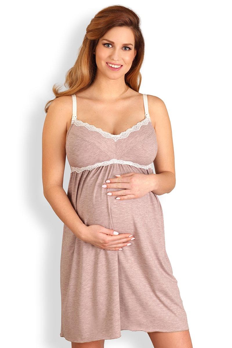 Сорочка для беременных и кормящих мам Laura Lupoline