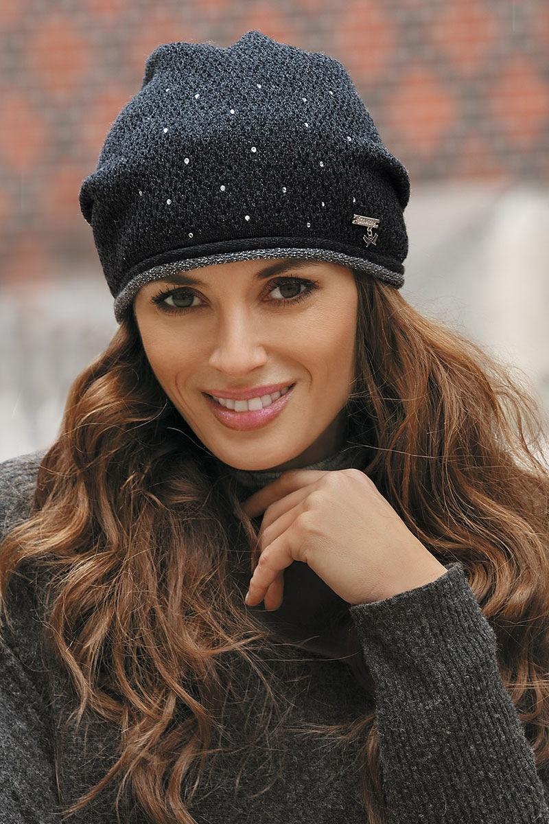 Женская шапка Benita Grafit от Kamea
