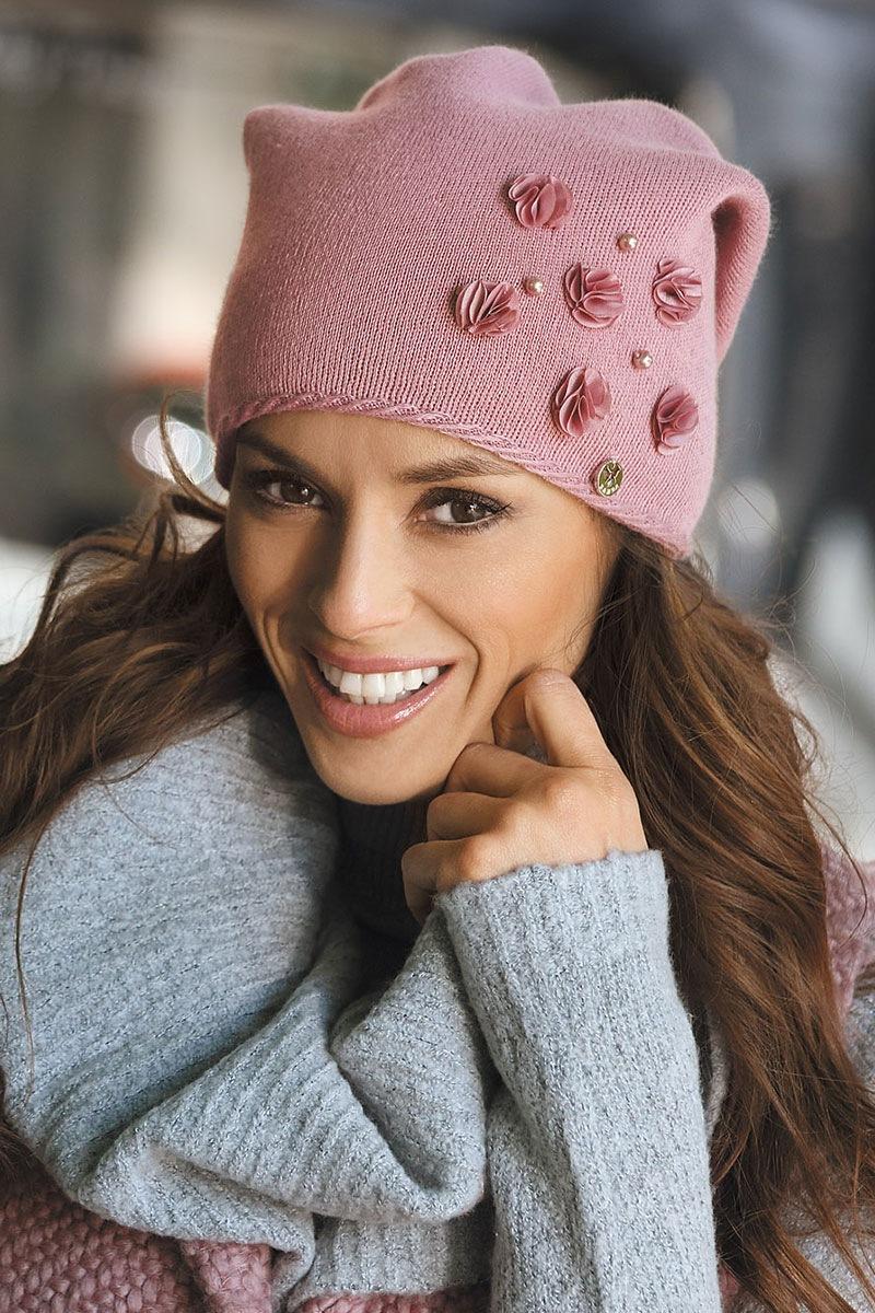 Женская шапка Clarisa Pink от Kamea