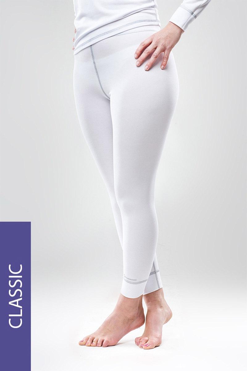 Термо штаны Classic - белые MrsFitness