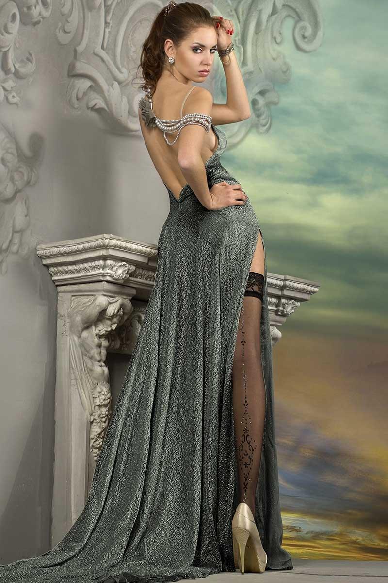 Роскошные самодержащиеся чулки J.Collection 211 Ballerina