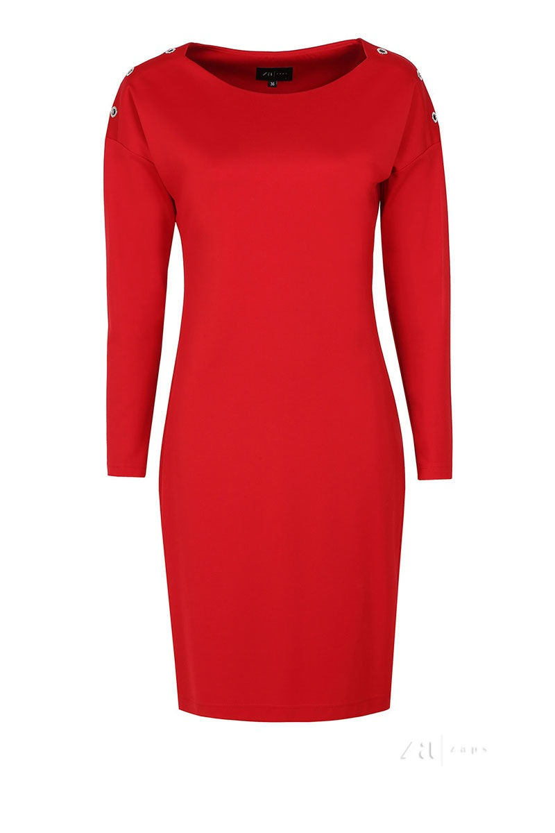 Женское элегантное платье Dianna Red Zaps