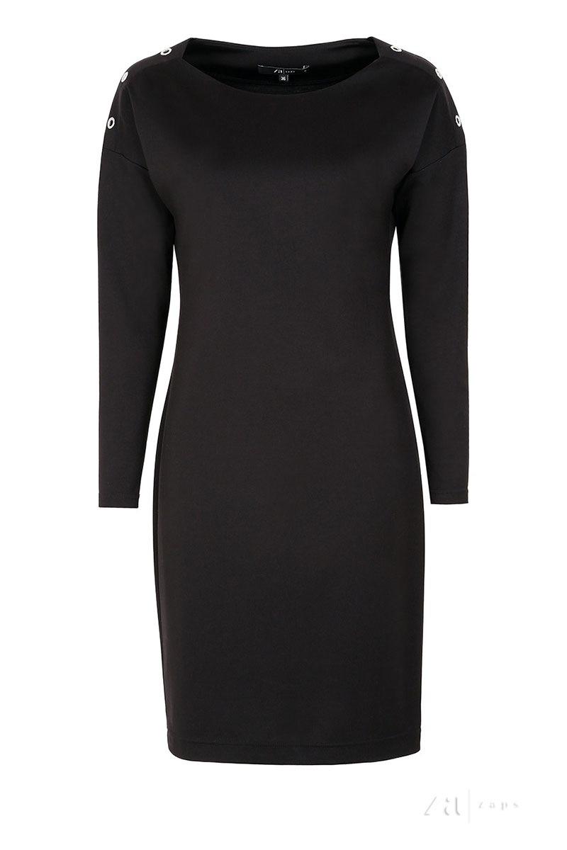 Женское роскошное платье Dianna Black Zaps