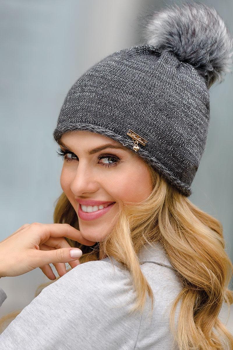 Женская шапка Dulce Grafit от Eterno
