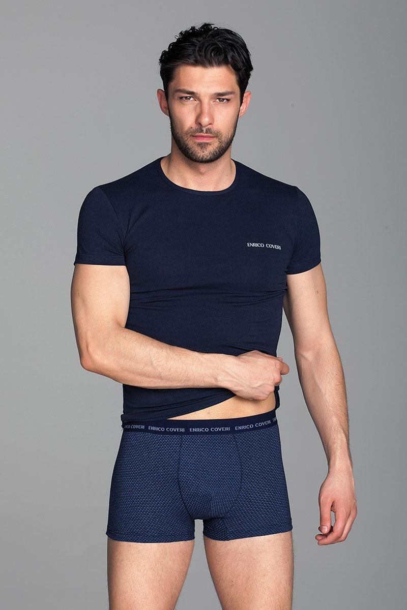 Мужской комплект Paolo1 - футболка, боксерки от Enrico Coveri