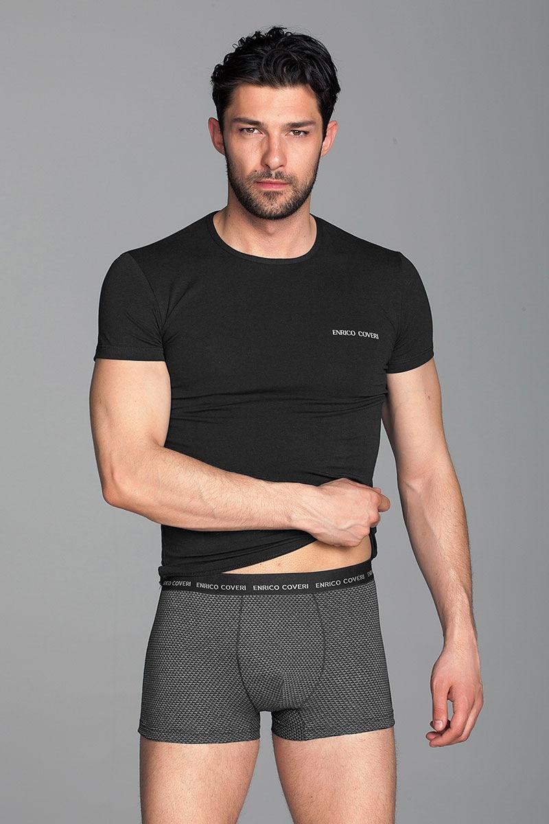 Мужской комплект Paolo2 - футболка, боксерки от Enrico Coveri