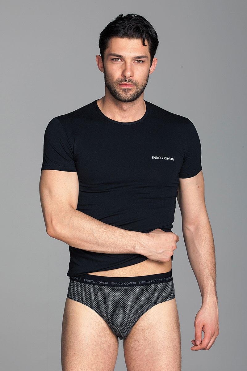 Мужской комплект Fabio2 - футболка, слипы от Enrico Coveri