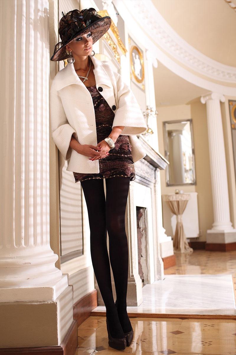 Элегантные колготки Glamour Soft Black Ballerina