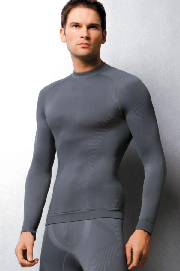 Бесшовная мужская футболка Termo Active - быстросохнущая Haster