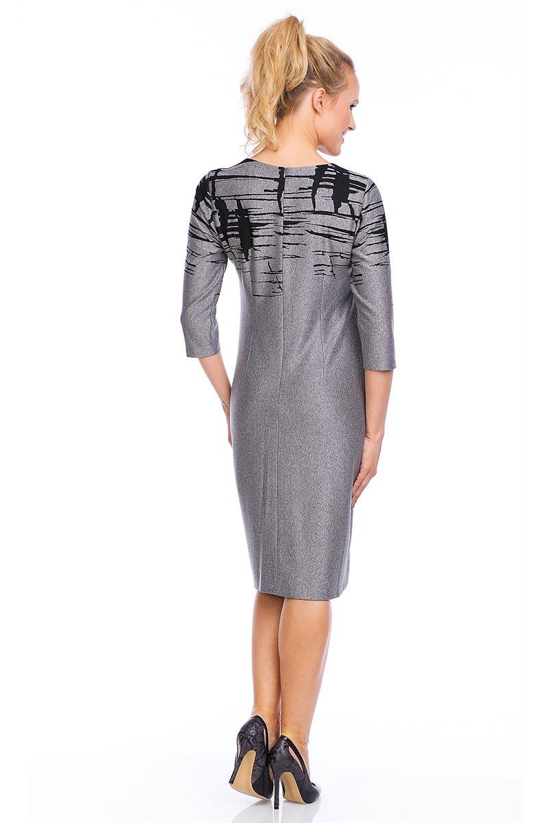Элегантное женское платье Livia Grey Lental