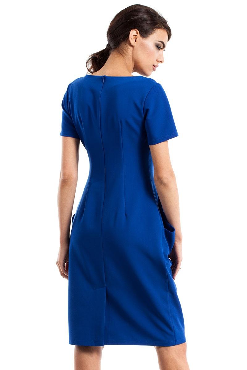 Женское элегантное платье с карманами Moe234 Moe