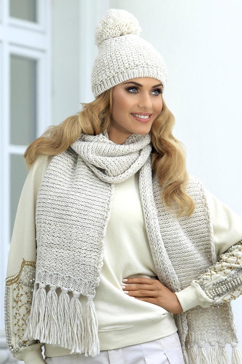 Комплект шапка + шарф Molly 1 от Kamea