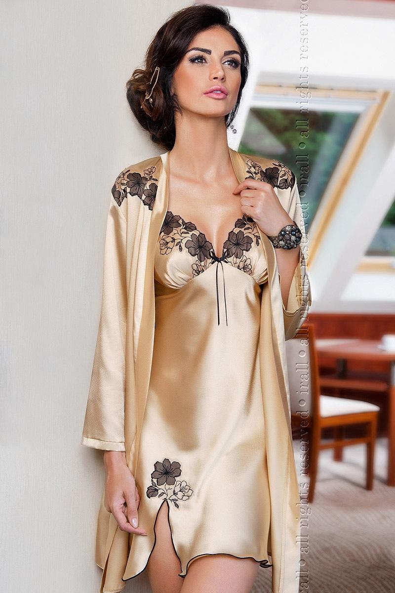 Атласный женский халат Petra от Irall