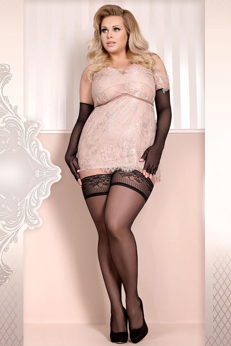 Роскошные самодержащиеся чулки Soft size 363 Ballerina
