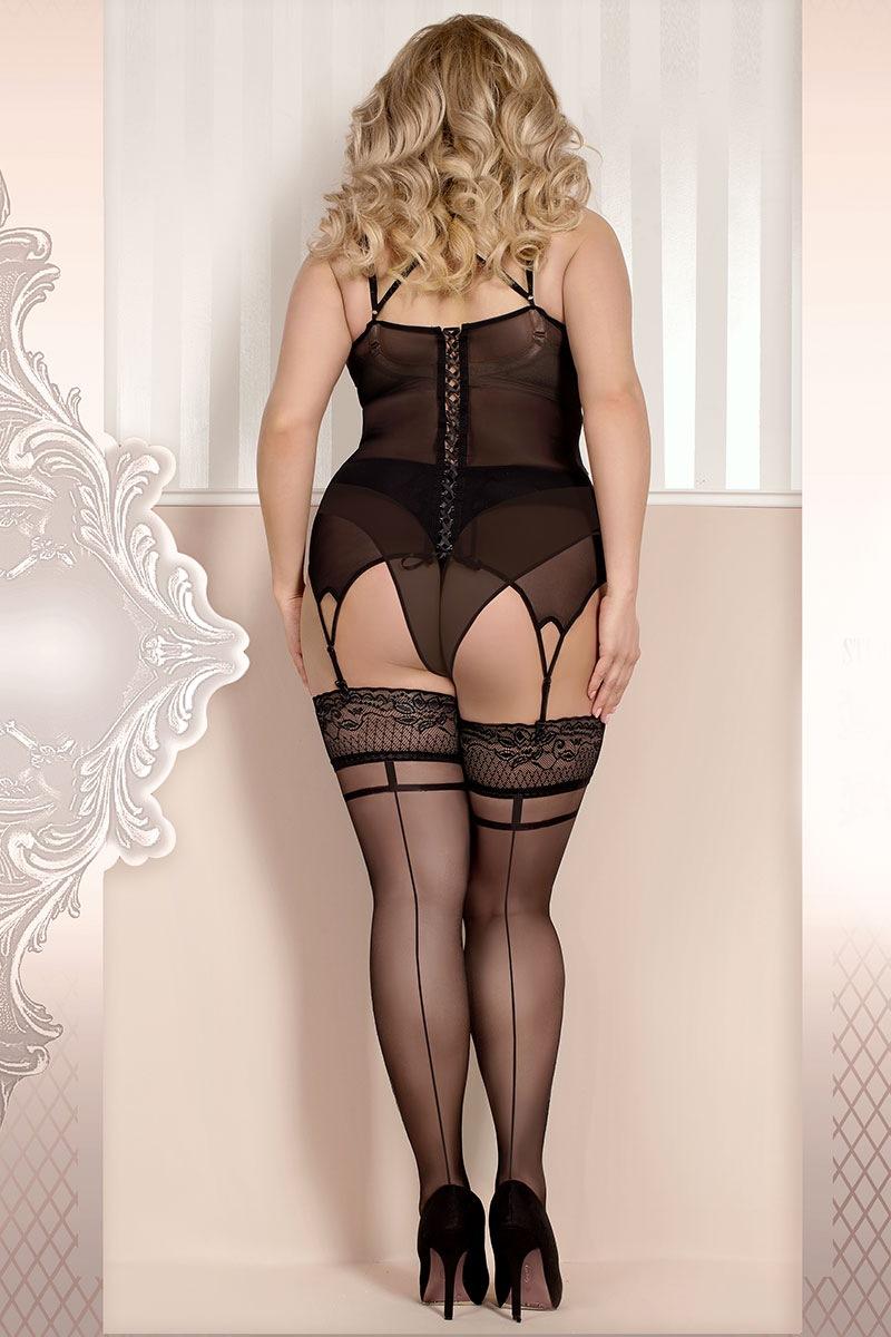 Роскошные самодержащиеся чулки Soft size 368 Ballerina