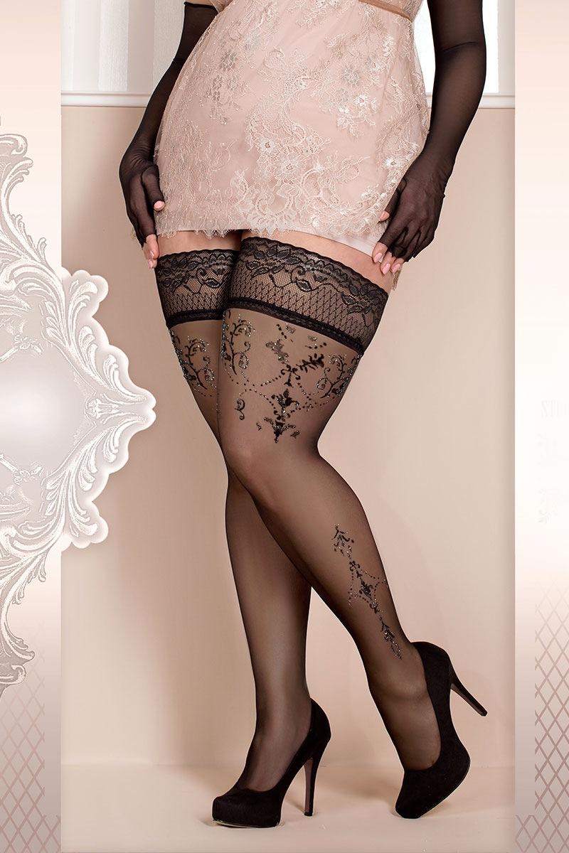 Роскошные самодержащиеся чулки Soft size 371 Ballerina