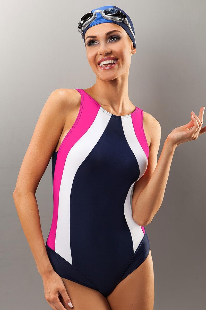 Женский спортивный цельный купальник Sevila от Aquarilla
