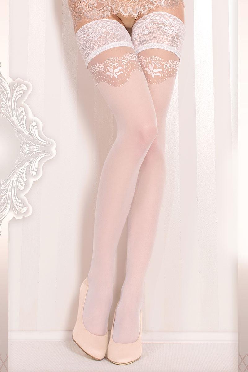 Роскошные самодержащиеся чулки Wedding 372 Ballerina