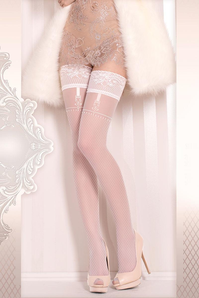 Роскошные самодержащиеся чулки Wedding 374 Ballerina
