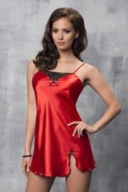 Роскошная атласная сорочка Tare Red