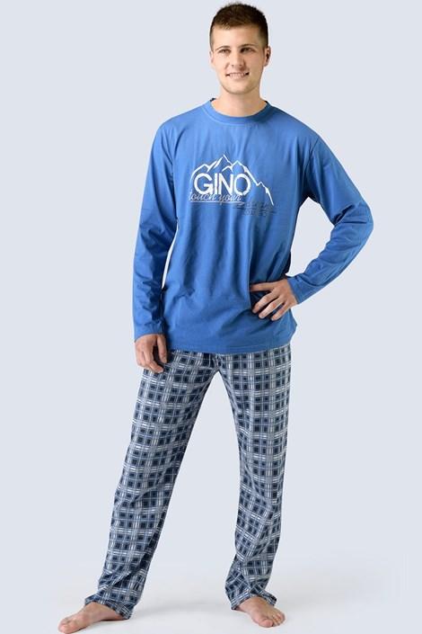 Мужская пижама Gino с длинными рукавами