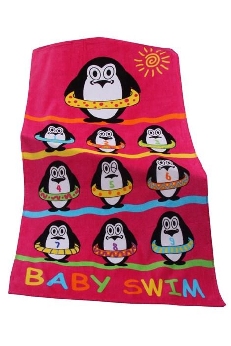 Детское пляжное полотенце Baby swim
