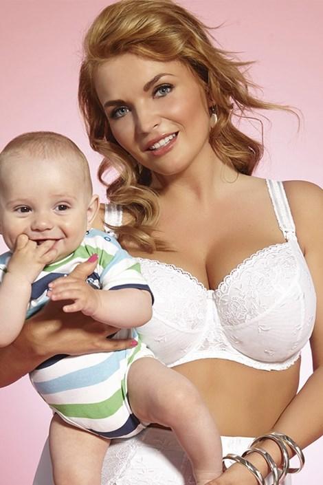 Бюстгальтер для кормящих мам Brillant mama неуплотненный