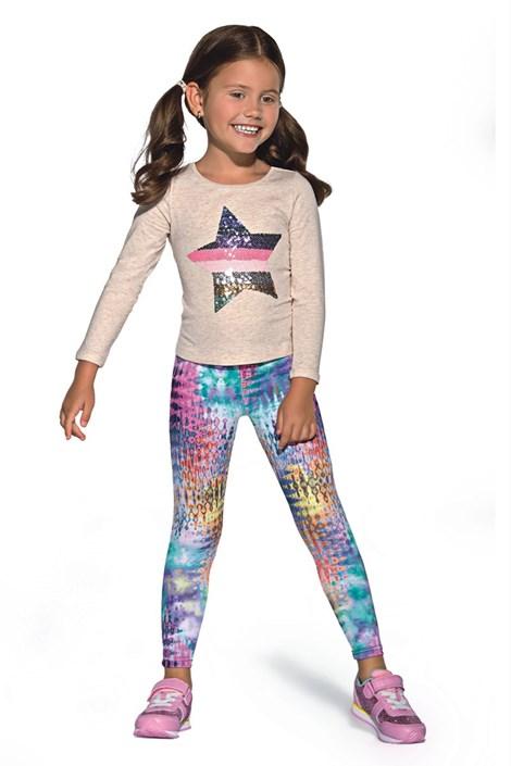 Детские цветные леггинсы Dixi