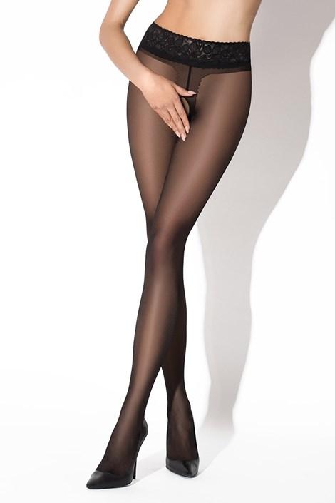 Эротические колготки Hip Lace Black