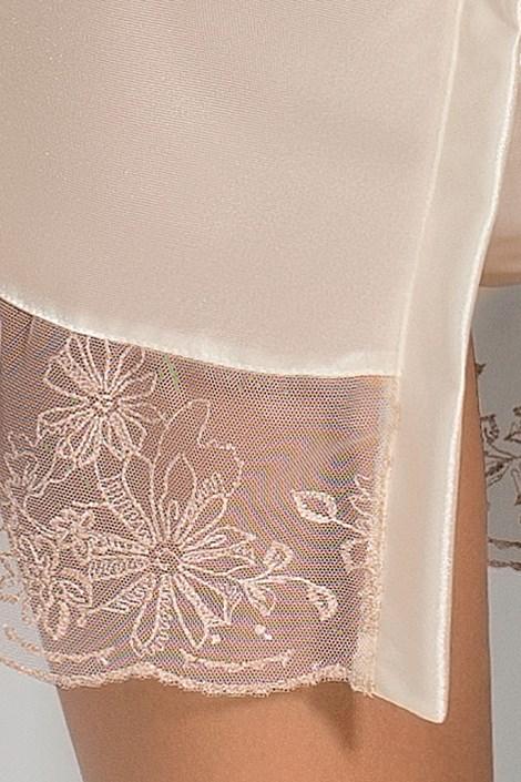 Элегантный халатик Lotus Cream