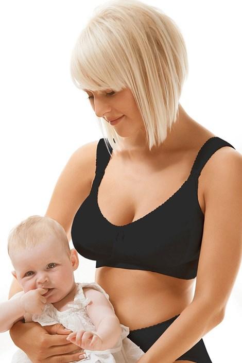 Бюстгальтер для кормящих мам Mama 3433 неуплотненный, хлопковый