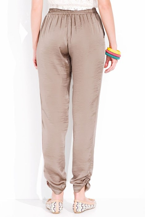 Роскошные атласные штаны Prissy 003