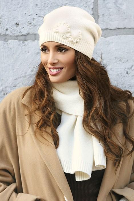Женская шапка Abella Ecru