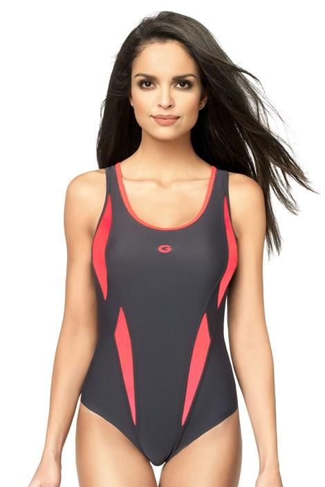 Женский цельный спортивный купальник Aqua