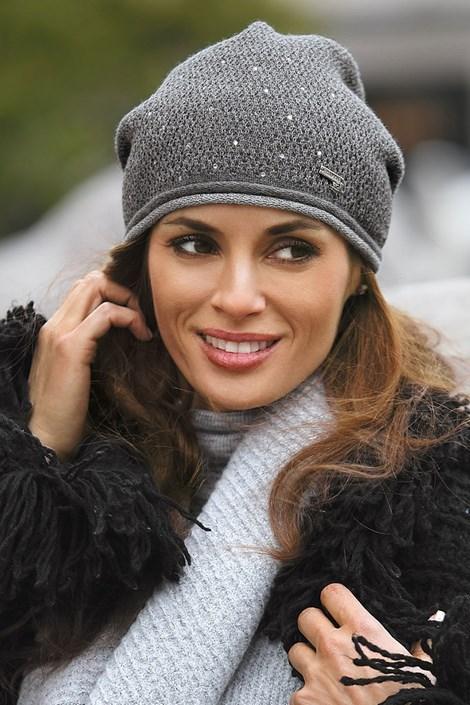 Женская шапка Benita Grey