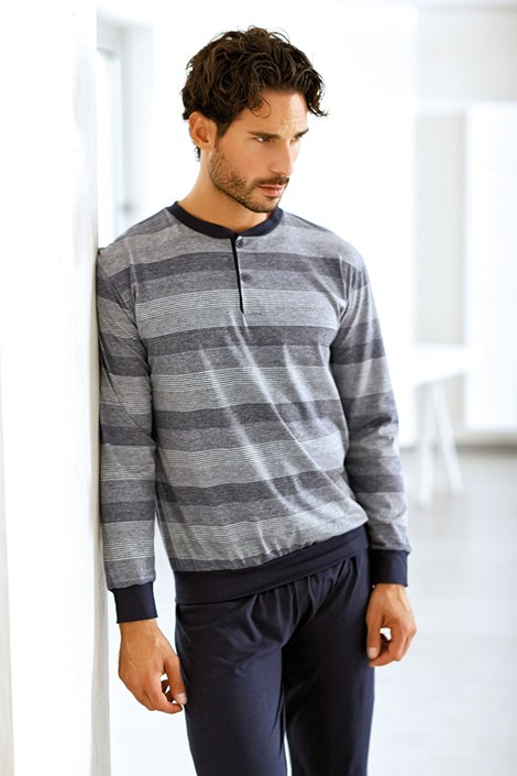 Мужской хлопковый комплект Lucca - кофта, брюки