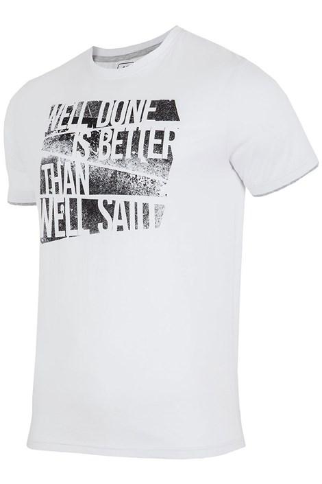 Мужская брендовая футболка 4F TSM006 White