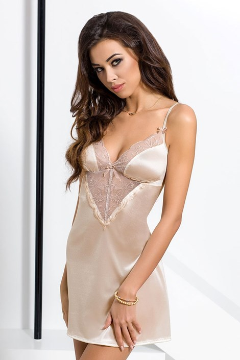 Элегантная сорочка Lotus Cream