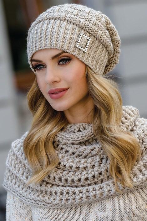 Женская шапка Paloma Beige