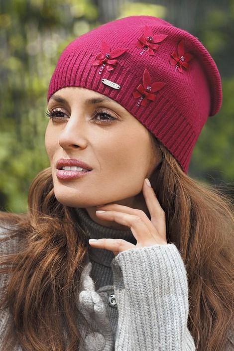 Женская шапка Ramira Бордо