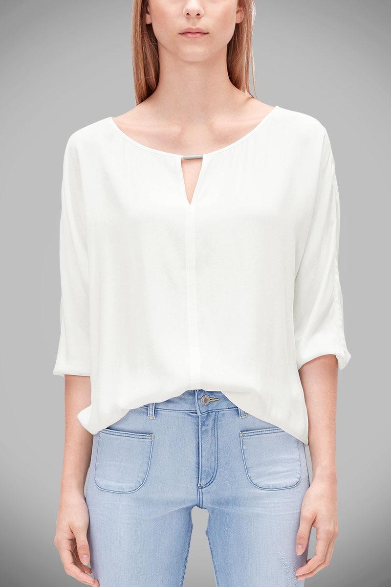Женская блуза из вискозы s.Oliver S.Oliver