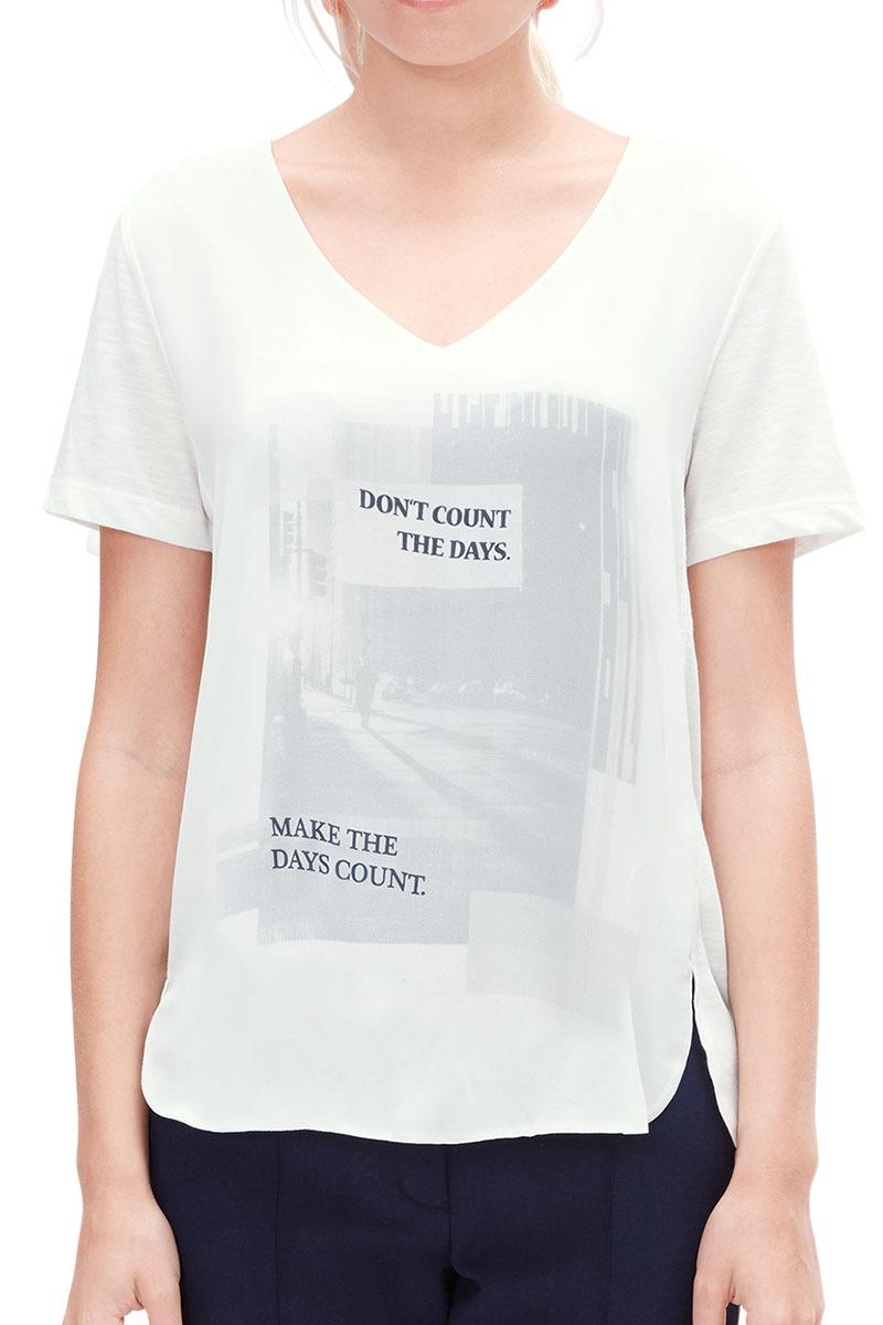 Женская блуза с принтом V1 s.Oliver S.Oliver