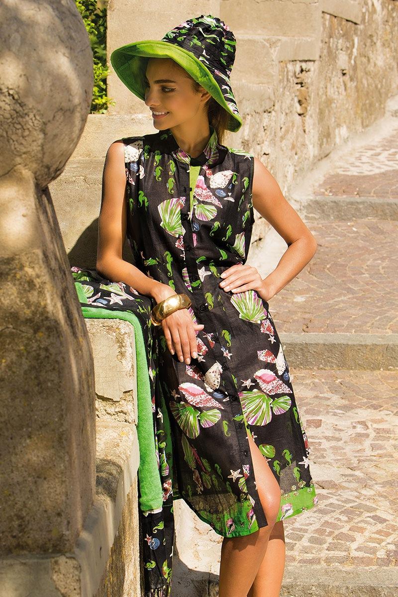 Женское платье Giorgia хлопковое из коллекции Iconique Iconique