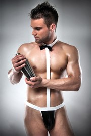 Мужское эротическое боди Waiter