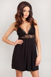 Роскошная сорочка Romantica Black