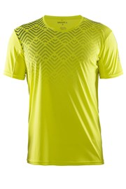 Мужская функциональная футболка Craft Mind SS желтая