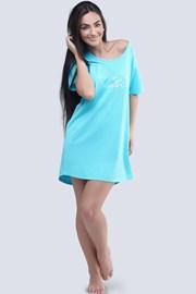 Женская ночная сорочка Let´s do branch бирюзовая