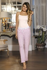 Женские пижамные брюки Hearts