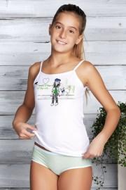 Комплект майка и трусики для девочек Marika Green